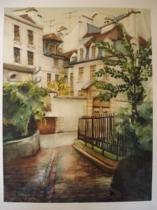 Impasse rue St Julien Le Pauvre Paris