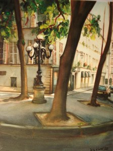 Place furstemberg Paris